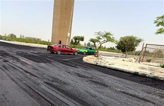 علاء منيع: رفع كفاءة الطرق وشبكة المياه بالحي الخامس بمدينة السادات | صور