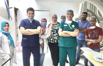 نجاح فريق طبي بالمستشفى التعليمى بطنطا من إنقاذ حياة طفل