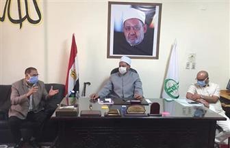 رئيس منطقة البحر الأحمر الأزهرية يجتمع بمديري الإدارات التعليمية استعدادا لامتحانات الثانوية | صور