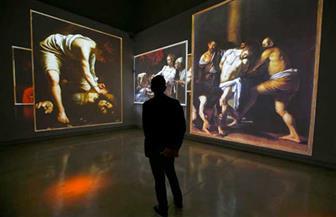 عرض لوحة شهيرة للرسام الإيطالي الراحل كارافايو في معرض بروما