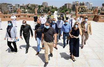 وزير السياحة والآثار يتفقد قصر البارون إمبان بمصر الجديدة بعد الانتهاء من تطويره| صور