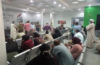 تعافي وخروج 20 مصابا بالكورونا من مستشفى الحميات بالأقصر |صور