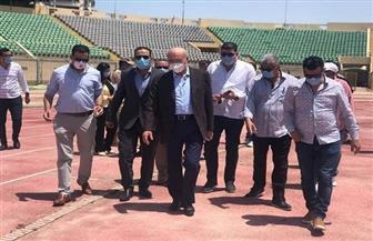 بدء خطوات إنشاء إستاد المصري الجديد |صور