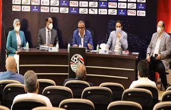 أندية المجموعة الأولى بالقسم الثاني توافق على تعديلات لائحة اتحاد الكرة