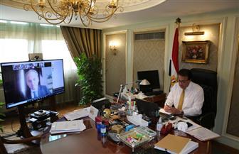 وزير التعليم العالي والسفير البيلاروسي يبحثان سبل التعاون في مجال التعليم العالي | صور