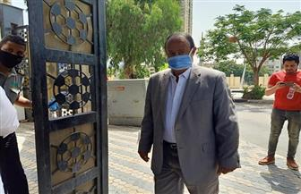 علاء مقلد يصل اتحاد الكرة لحضور اجتماع مناقشة قرار «عودة النشاط»