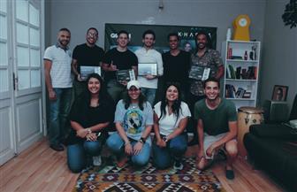 """هشام خرما يسلم جوائز الفائزين في مسابقة أفضل ريمكس لموسيقى تتر """"النهاية"""""""