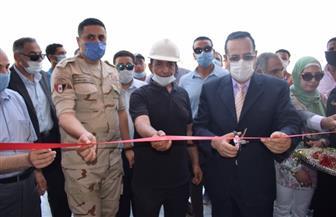محافظ شمال سيناء يفتتح عدة مشروعات بجامعة العريش | صور