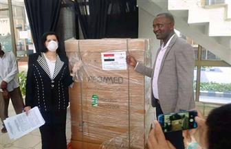 سفارة مصر في بوجمبورا تسلم شحنة مساعدات طبية إلى المستشفى المصري ـ البوروندي في بوروي | صور