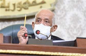 """عبدالعال يمازح نائبا خلال الجلسة العامة: """"اعدل الكمامة ليقولوا نواب أسوان مش عارفين يلبسوها"""""""