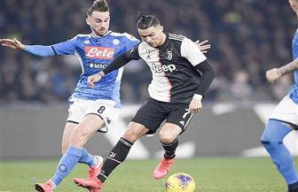 التعادل السلبي ينهي الشوط الأول من نهائي كأس إيطاليا بين نابولي ويوفنتوس