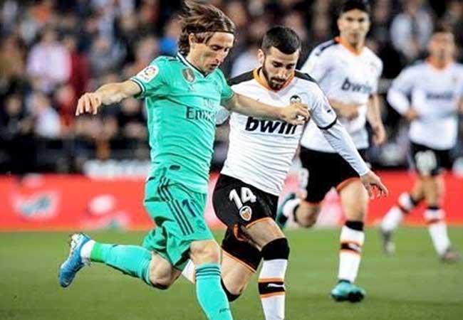 بث مباشر مشاهدة مباراة ريال مدريد وفالنسيا اليوم الأحد  في الدوري الإسباني