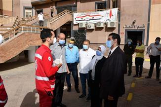 الفيوم تتسلم 1040 حقيبة أدوات حماية شخصية للأطقم الطبية من «الهلال الأحمر» | صور