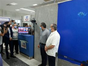 وزيرا الطيران والسياحة يتفقدان الإجراءات الاحترازية بمطار الغردقة الدولي | صور