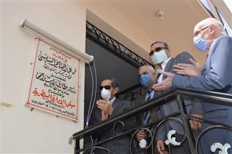 محافظ الغربية ونائبه يفتتحان مبنى الإدارة البيطرية الجديد بزفتى | صور