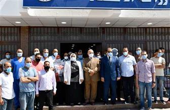 رئيس جامعة قناة السويس تفتتح مستشفى لعزل مصابي «كورونا»