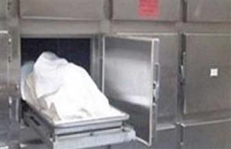 دفن جثة شاب صدمه قطار في العياط