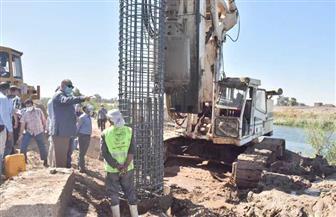 محافظ أسيوط يتفقد إنشاء كوبري منقباد بطول 1.6 كم وتكلفة 250 مليون جنيه| صور