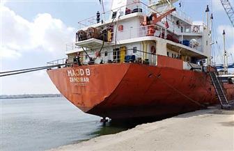 تفريغ 2700 طن رخام وتدوال 20 سفينة في مواني بورسعيد   صور