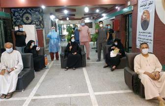 مستشفى قنا العام يعلن تعافى وخروج 14 حاله من المصابين بفيروس كورونا | صور