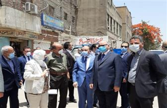 «شعراوي» ومحافظ القاهرة يتفقدان سوق المطرية الجديدة ومحاور مشروع مجمع التكسير الهيدروجينى