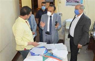 نائب محافظ المنيا يتابع سير العمل بمستشفى الحميات والصدر