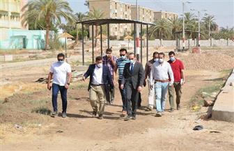 نائب محافظ سوهاج يتفقد أعمال مبادرة «حياة كريمة» في قرى جهينة | صور