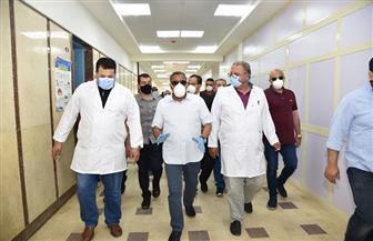 محافظ مطروح: 7 مستشفيات جاهزة لاستقبال حالات الاشتباه بالإصابة بفيروس كورونا | صور