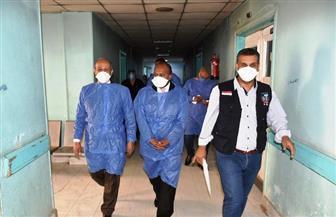 محافظ أسوان يوفد لجنة للمرور على مستشفيات العزل