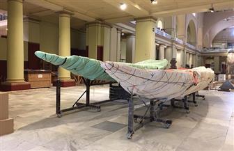 متحف شرم الشيخ يستقبل 3 قطع أثرية كبيرة جديدة من متحف التحرير| صور