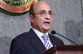 وزير العدل يوجه التحية للدبلوماسية المصرية على كلمة مصر في مجلس الأمن