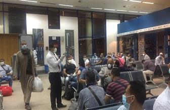 مطار مرسى علم الدولي يستقبل 165 من المصريين العالقين في الكويت |صور