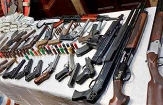 ضبط 46 قطعة سلاح بدون ترخيص و7 قضايا مخدرات في حملة أمنية بمركز ساقلته