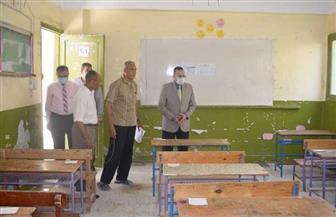 محافظ شمال سيناء يتفقد لجان واستراحات الثانوية العامة | صور
