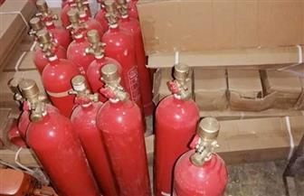 """ضبط صاحب ورشة لقيامه بتعبئة أسطوانات إطفاء الحريق """"بدون ترخيص"""" بجنوب سيناء"""