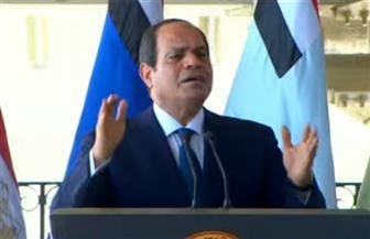 الرئيس السيسي: سرت والجفرة خط أحمر في ليبيا