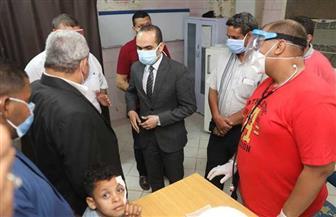 نائب محافظ سوهاج يتفقد مستشفى البلينا المركزي | صور