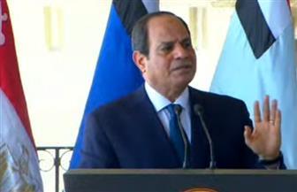 الرئيس السيسي: لن نكون غزاة وليس لنا أطماع في ليبيا
