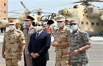 الرئيس السيسي لرجال القوات المسلحة: كونوا مستعدين لأي مهام داخل حدود الوطن وخارجها
