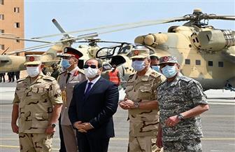 """""""علاء والي"""": زيارة الرئيس السيسي اليوم رفعت الروح المعنوية لحماة البوابة الغربية لمصر"""