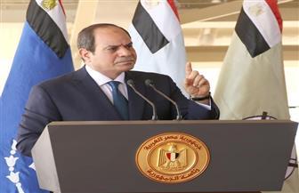 الرئيس السيسي: كنا حريصين على التعامل مع أزمة سد النهضة من خلال التفاوض