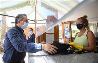 وزير السياحة والآثار يتابع تطبيق ضوابط السلامة الصحية في أحد مراكز الغوص بشرم الشيخ | صور