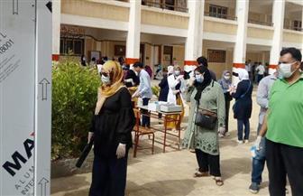 10253 طالبا وطالبة يؤدون امتحانات اللغة العربية في 41 لجنة بدمياط |صور