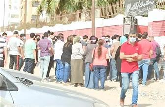 زحام من أولياء الأمور أمام لجان الثانوية العامة بالإسكندرية |صور وفيديو