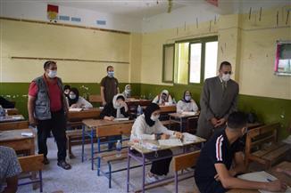 محافظ شمال سيناء يتفقد لجان امتحانات الثانوية العامة والأزهرية بمدينة العريش | صور