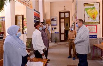 محافظ أسيوط يتفقد مقار لجان امتحانات الثانوية العامة | صور