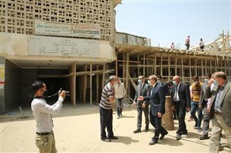 محافظ كفرالشيخ يتفقد الأعمال الإنشائية لمبنى الدرجات الجديد بالمستشفى العام بعاصمة المحافظة | صور