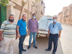 ضبط 25 ألف كمامة غير مطابقة للمواصفات داخل مصنع في «معصرة صاوي» بالفيوم | صور