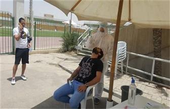 لاعبو المقاولون العرب وأفراد الجهاز الفني والإداري يخضعون لمسحة «كورونا»