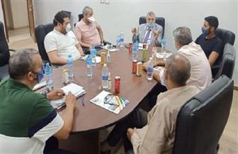 تعاون بين مجلس أمناء مدينة الجلود والميناء البري الدولي لزيادة الصادرات | صور